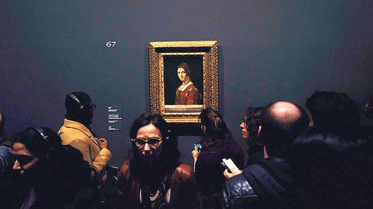 Louvre müzesi rekor rakamı açıkladı: Da Vinci sergisine  1.1 milyon ziyaretçi