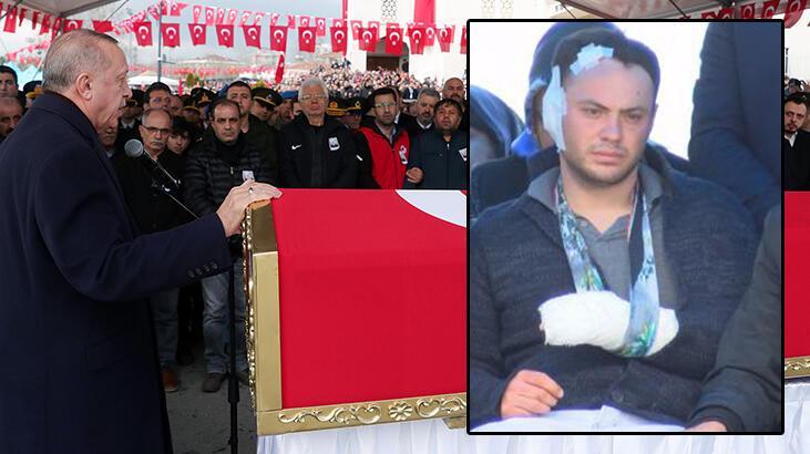 Cumhurbaşkanı Erdoğan'dan şehit cenazesinde net mesaj: Mücadelemize devam edeceğiz