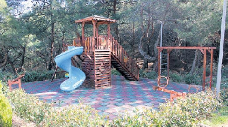Taylıeli piknik alanı yeni yüzüyle açıldı
