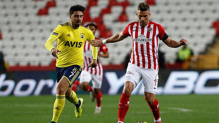 Antalyaspor'da Podolski rüzgarı