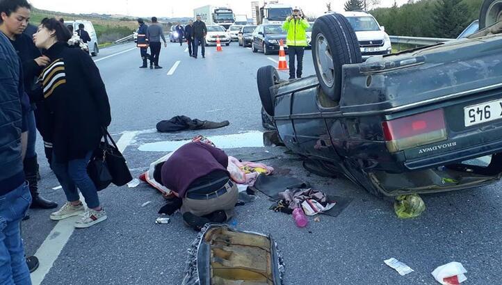 Mersin'de feci kaza! Yaralılar etrafa saçıldı