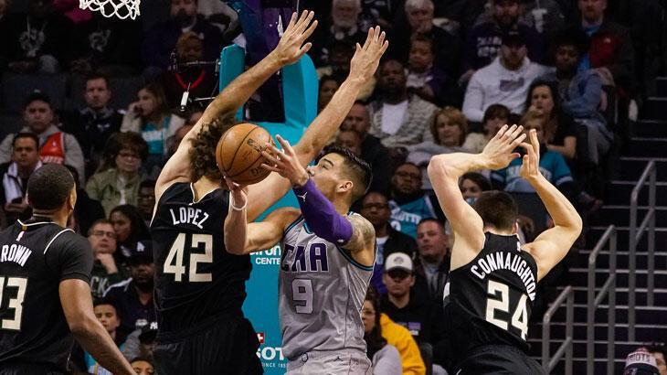 NBA'de Bucks, galibiyet serisini 6 maça çıkardı