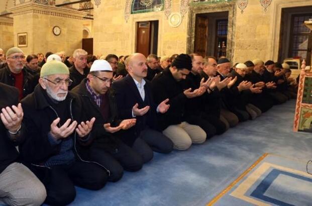 Amasya'da askerlerimiz için dua edildi