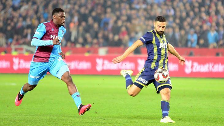 Trabzonspor - Fenerbahçe: 2-1