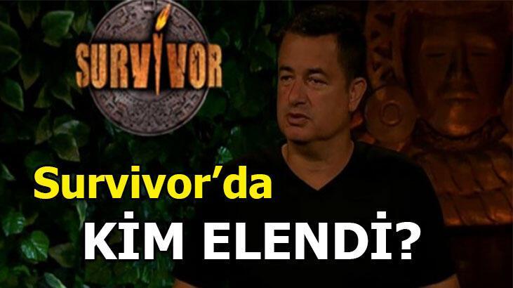 Survivor kim elendi? Survivor 2020'de Ünlüler takımında veda