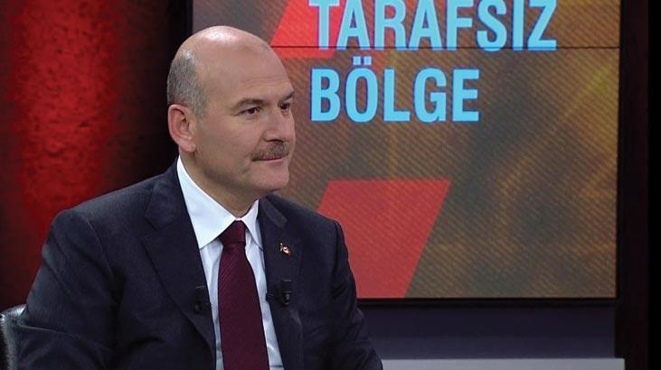 Bakan Soylu CNN TÜRK'te! Canlı yayında önemli açıklamalar...