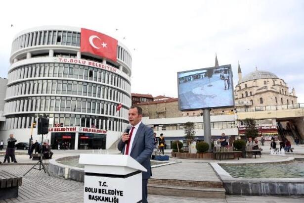 Bolu Belediyesi led ekran üretmeye başladı