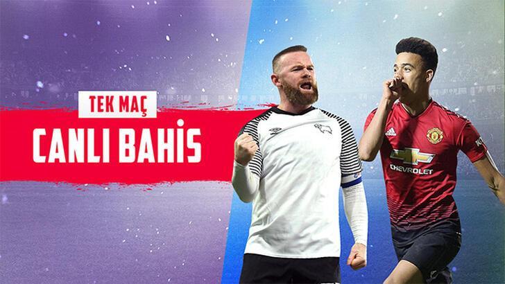 Derby-Manchester United maçı canlı bahisle Misli.com'da...
