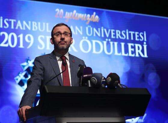 """Gençlik ve Spor Bakanı Kasapoğlu: """"Sporun birleştiren gücünü yaşadık"""""""