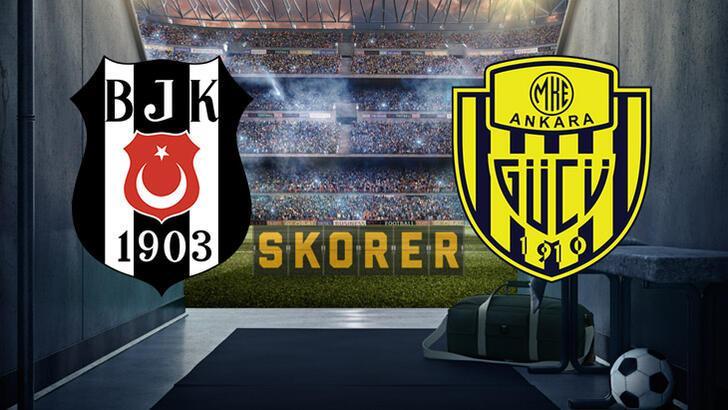 Beşiktaş-Ankaragücü maçı bu akşam saat kaçta hangi kanalda? Muhtemel 11'ler