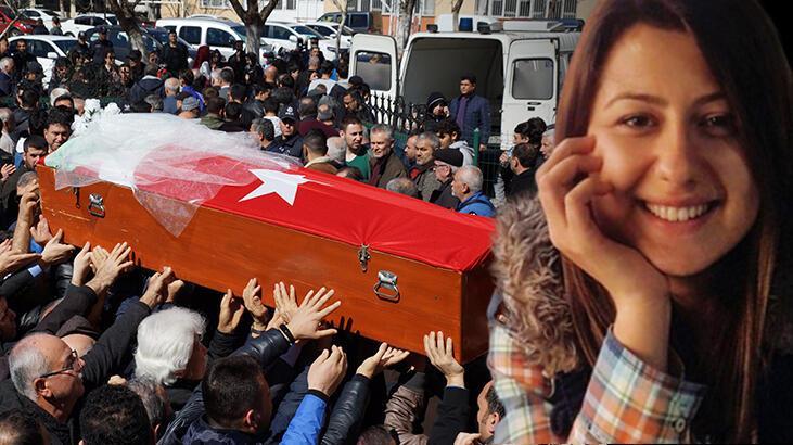 Meslektaşı tarafından öldürülen kadın polis son yolculuğuna duvağıyla uğurlandı