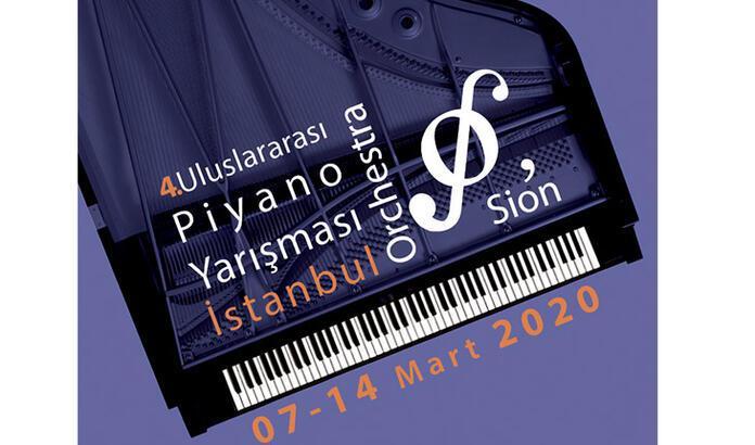 4. İstanbul Orchestra'Sion Uluslararası Piyano Yarışması başlıyor