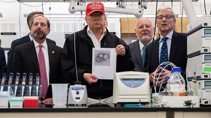 Trump'tan koronavirüs açıklaması: Her şeye hazırlıklıyız