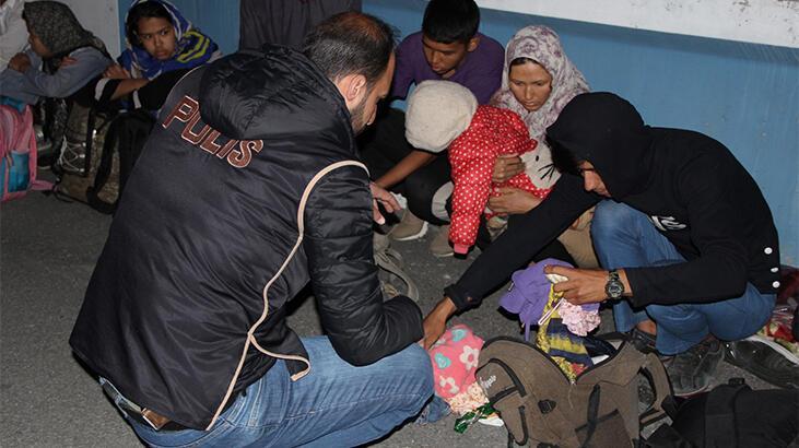 Son dakika... İçişleri Bakanlığı'ndan göçmen kaçakçılığı operasyonu! Gözaltılar var