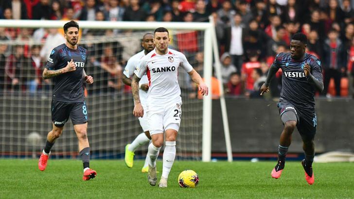 Gaziantep FK- Trabzonspor: 1-1