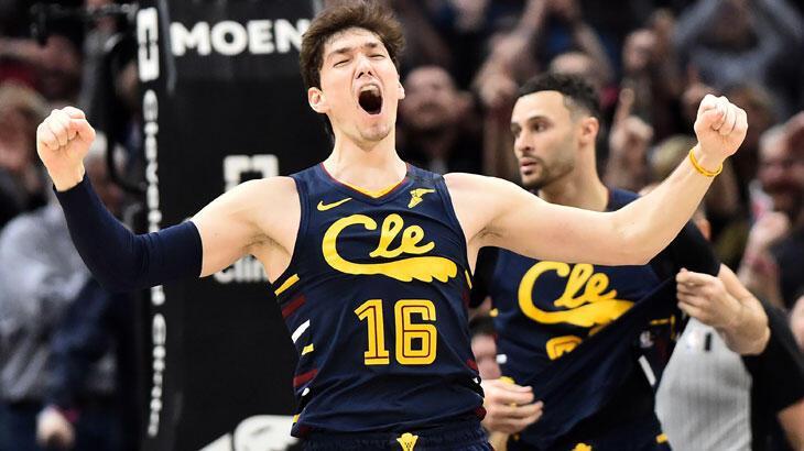 Cedi'nin 20 sayı attı Cavaliers kazandı