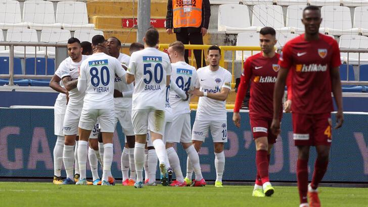 Kasımpaşa-Hes Kablo Kayserispor: 5-1