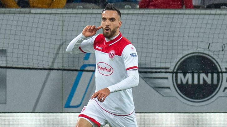 Kenan Karaman gol attı, Fortuna Düsseldorf bir puan aldı