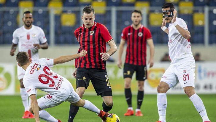 Gençlerbirliği Antalyaspor: 1-1