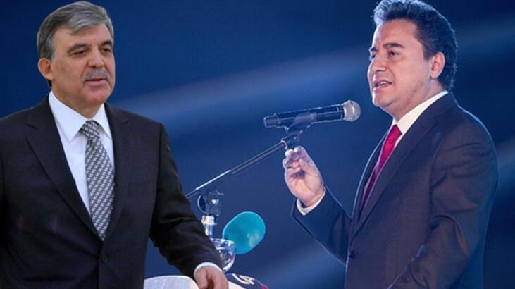 'Abdullah Gül ve Ali Babacan gömleğin ilk düğmesini yanlış ilikledi'