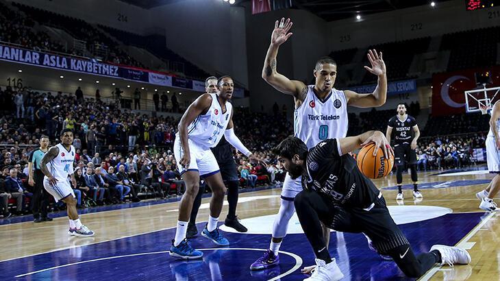 Beşiktaş ve Türk Telekom FIBA Şampiyonlar Ligi son 16 turu rövanş maçında karşılaşacak