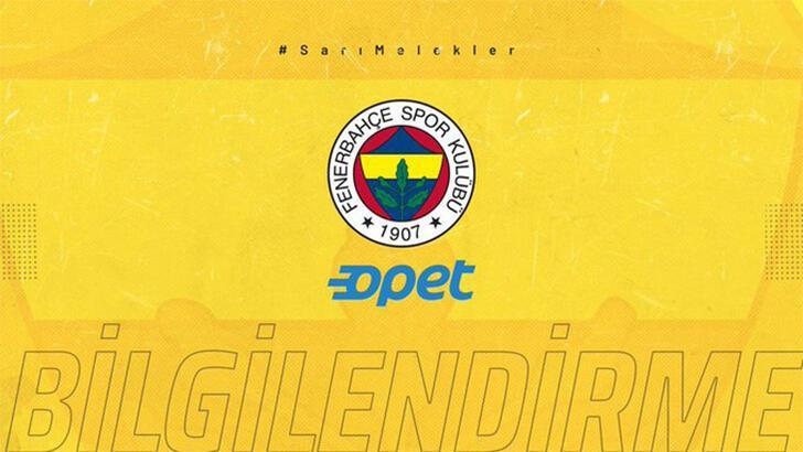 Fenerbahçe Opet'in maçına koronavirüs engeli