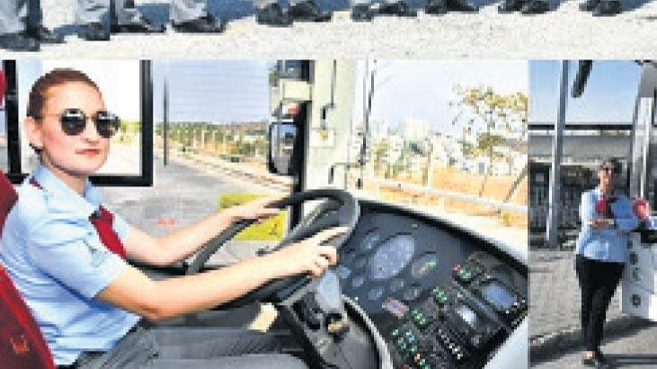 Kadın şoför sayısı 64'e çıkıyor