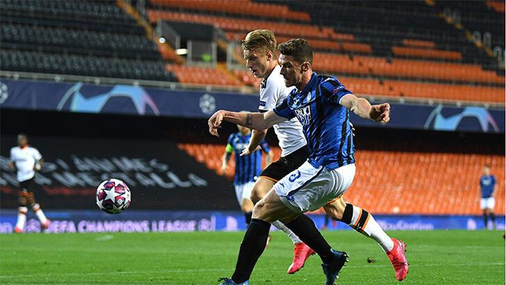 Valencia-Atalanta: 3-4 Toplam skor: (4-8)