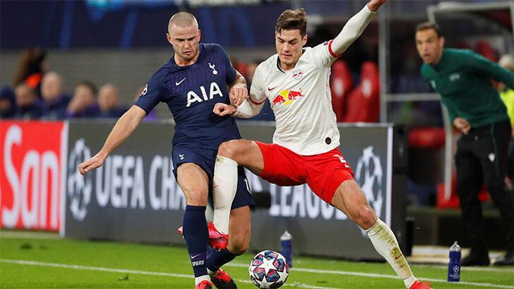 RB Leipzig-Tottenham: 3-0 Toplam skor: (4-0)