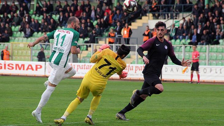 Giresunspor evinde Keçiörengücü'nü 1-0 mağlup etti