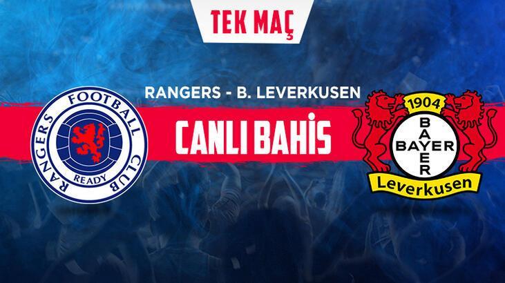 Rangers -Leverkusen maçı canlı bahisle Misli.com'da