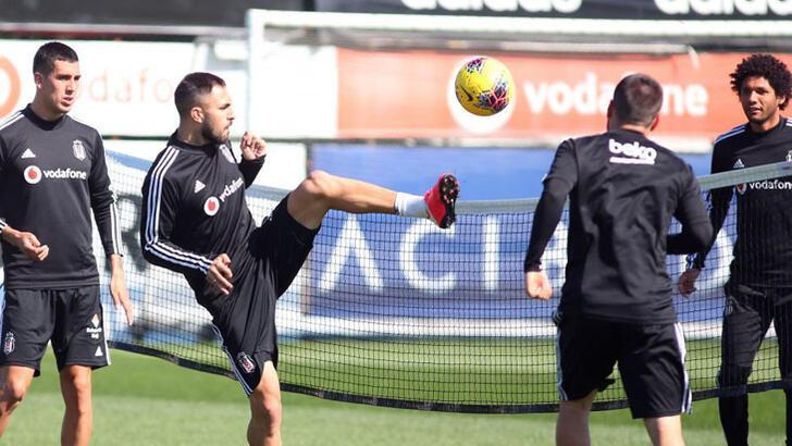 Beşiktaş taktik ve kondisyon çalıştı