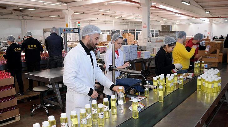 Kolonya firması, yoğun iç talebi karşılamak için Avrupa'ya satışları durdurdu