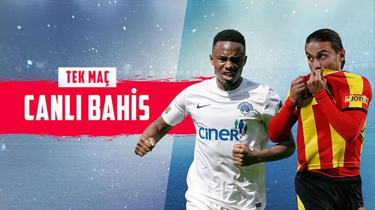 Kasımpaşa - Göztepe maçı canlı bahis heyecanı Misli.com'da