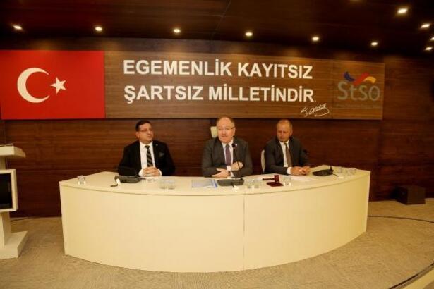 STSO, belediye meclisini konuk etti