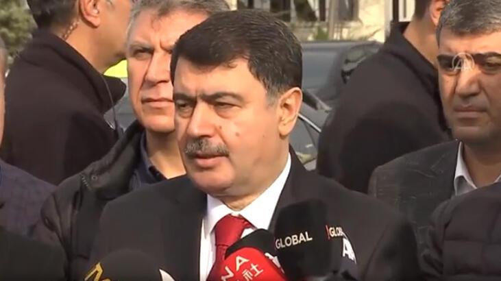 Ankara Valisi Şahin: Semptom şüphesi arz eden hastalarımızın sayısı 5'tir
