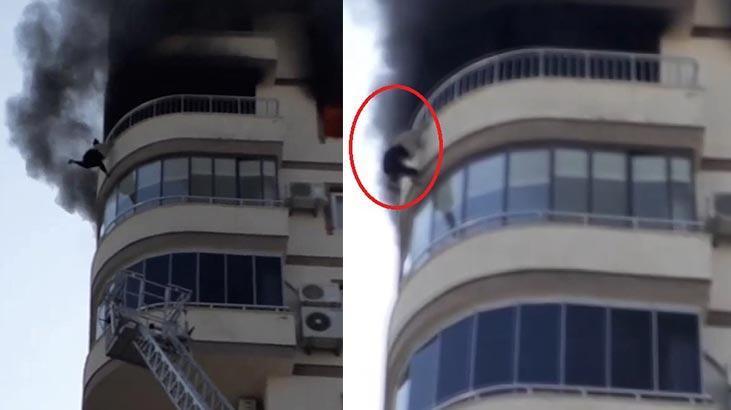 Yangında düşen kadının ölümüyle ilgili itfaiye amiri açığa alındı!