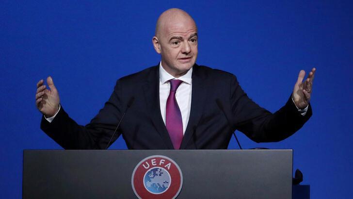 Infantino'dan 2021 Dünya Kulüpler Kupası'nın ertelenmesi talebi
