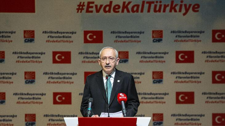 Kılıçdaroğlu, partisinin corona virüsle mücadele önerilerini açıkladı: