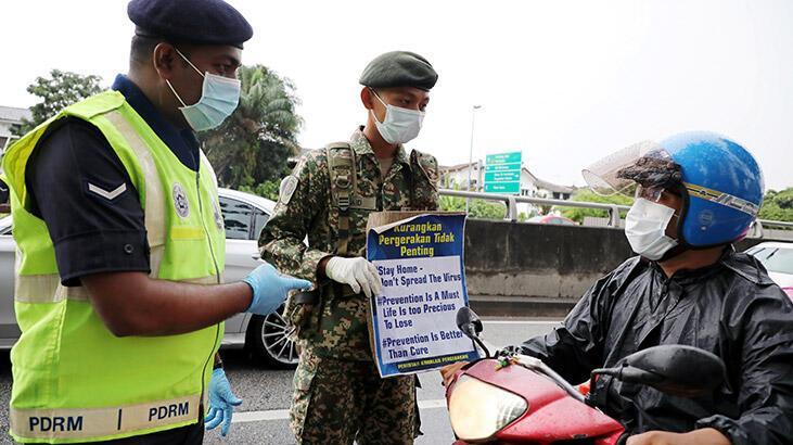 Malezya'da corona virüsü önlemleri... O uygulama uzatıldı!