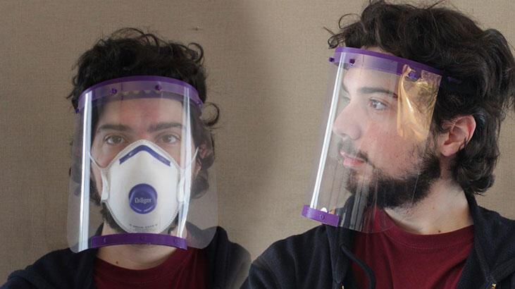Corona için 3D yazıcıyla siper! Sağlık çalışanlarına ücretsiz