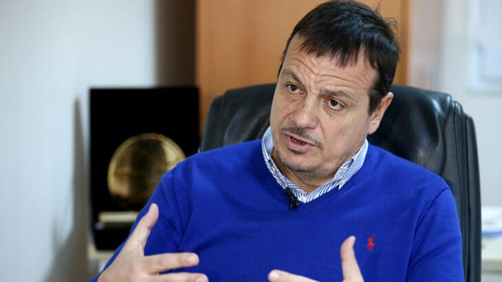 Ergin Ataman: Lig gerekirse yaz aylarında devam ettirilip tescil edilmeli
