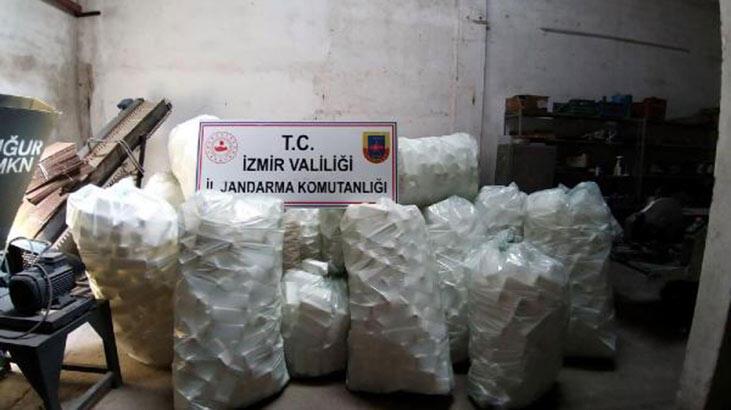 İzmir'de, 2 bin 500 litre sahte dezenfektan ele geçirildi