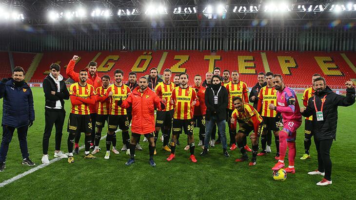 Göztepe'de teknik heyet ve futbolculara corona virüs testi yapıldı