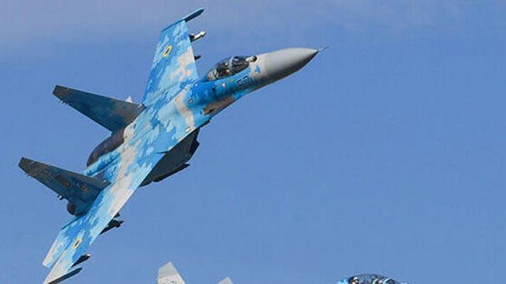Son dakika haberi... Rus Su-27 savaş uçağı Karadeniz'de düştü