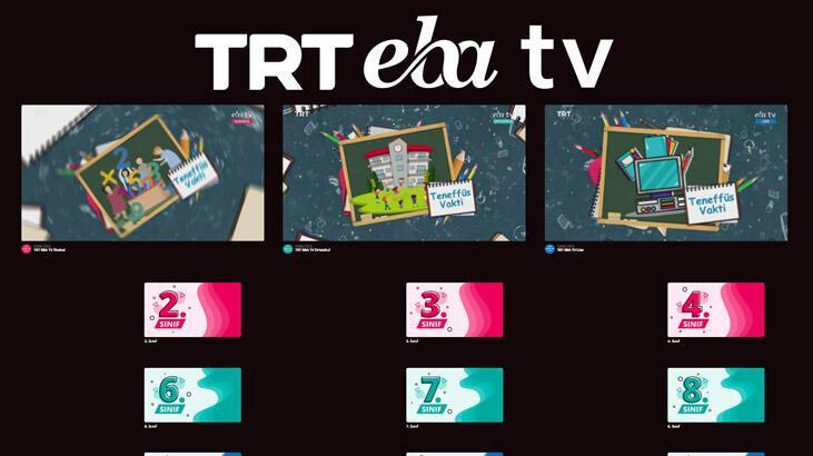 26 Mart EBA TV canlı yayın izle! TRT EBA TV üzerinden tekrar dersleri izlemek için tıklayın