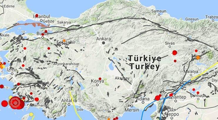 26 Mart son depremler... En son nerede ve ne zaman deprem oldu?