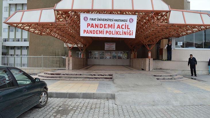 Elazığ'da Pandemi Acil Polikliniği kuruldu