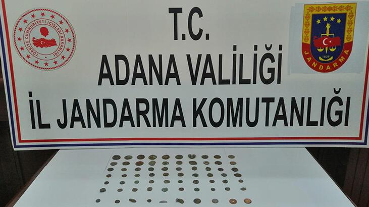 Adana'da 74 parça tarihi eser ele geçirildi