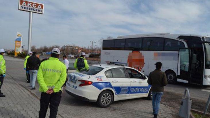 Otobüs şoförüne, fazla yolcu cezası